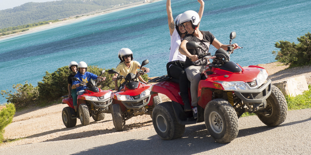 Incentivos Ibiza - Experiences - Quad tour